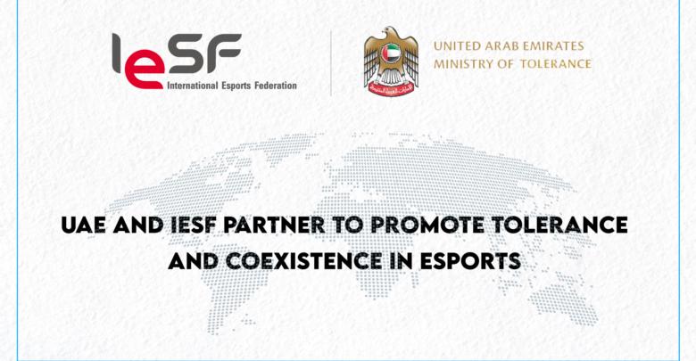 iesf uae ministry of tolerance partnership promote coexistence in esports Hofhv vdhqhj hg;jv,kdm s,vdh [ludm s,vdm